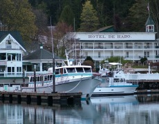 Glacier Spirit moored at Roche Harbor Resort